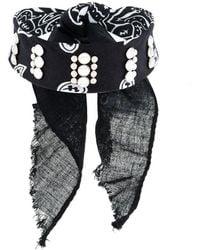 Dannijo Irene studded bandana choker ah1CPn3Dp0