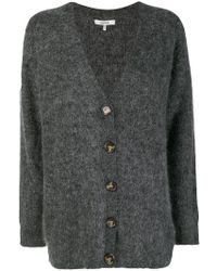 Ganni - Knitted Buttoned Cardigan - Lyst