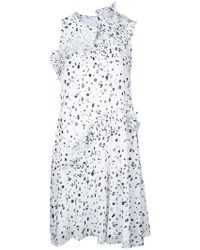 Carven - Dots Print Dress - Lyst