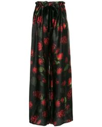 Mother Of Pearl - Rose Print Trousers - Lyst