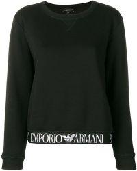 Emporio Armani - Branded Band Sweatshirt - Lyst