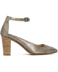 Mara Mac - Metallic Court Shoes - Lyst