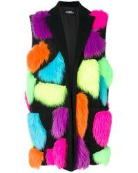 Jeremy Scott - Patchwork Faux Fur Gilet - Lyst