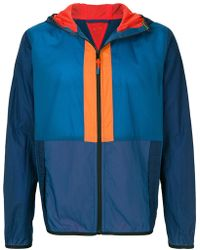 PS by Paul Smith - Colour-block Hooded Jacket - Lyst