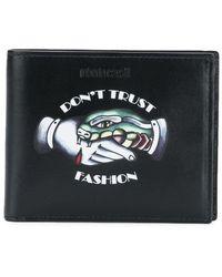 Roberto Cavalli - Don't Trust Fashion Wallet - Lyst