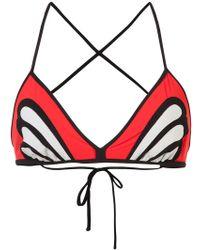 Morgan Lane - Reese Butterfly Bikini Top - Lyst