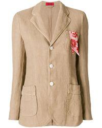 The Gigi - Rita Contrast Pocket Trim Jacket - Lyst
