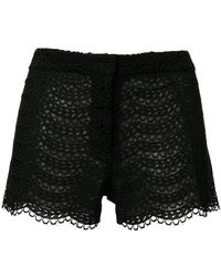Giambattista Valli - Embroidered Shorts - Lyst