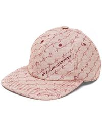 Stella McCartney - Monogram Logo Baseball Cap - Lyst