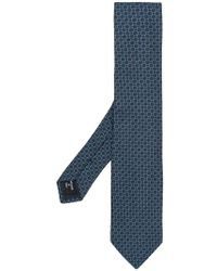 Giorgio Armani - Geometric Pattern Tie - Lyst