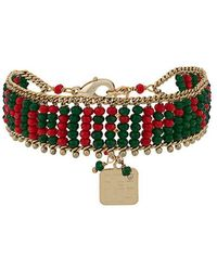 Rosantica - Beaded Adjustable Bracelet - Lyst