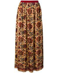 Mes Demoiselles - Floral Print Maxi Skirt - Lyst