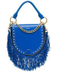 Sacai - Horseshoe Leather Shoulder Bag - Lyst