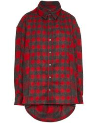 Y. Project - Double Front Lumberjack Shirt - Lyst