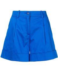 P.A.R.O.S.H. - Flared Shorts - Lyst