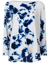 Suzusan - Slouchy Tie-dye Sweater - Lyst