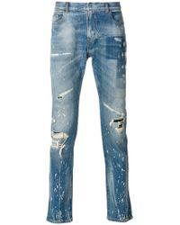 Faith Connexion - Ripped Slim Jeans - Lyst