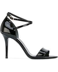 Armani - Ankle Strap Sandals - Lyst