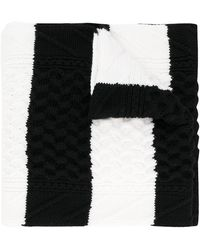 McQ - Chunky Knitted Scarf - Lyst