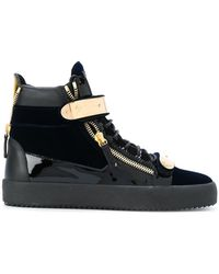 Giuseppe Zanotti - 'Coby' High-Top-Sneakers - Lyst