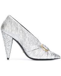 Stella Luna - Glitter Detail Court Shoes - Lyst