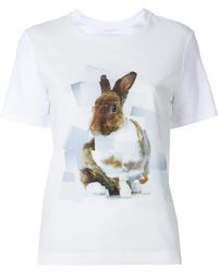 PS by Paul Smith - Bunny Print T-shirt - Lyst
