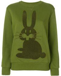 Peter Jensen - Rabbit Embroidered Sweatshirt - Lyst