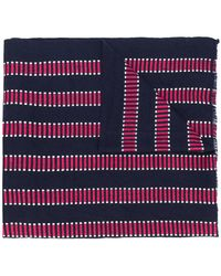 Closed - Striped Knit Scarf - Lyst