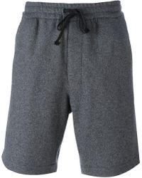 AMI - Shorts de chándal con cordones - Lyst