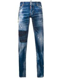 DSquared² - Vicious Wash Jeans - Lyst