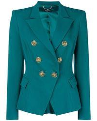 Elisabetta Franchi - Double Buttoned Jacket - Lyst
