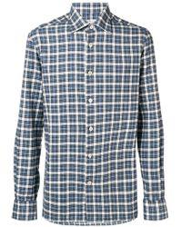 Kiton - Check Long-sleeve Shirt - Lyst