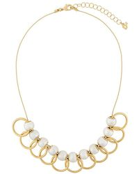 DSquared² - Overlapping Hoop Necklace - Lyst
