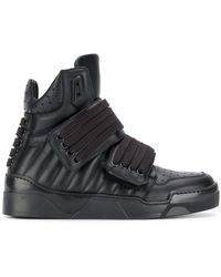 Les Hommes - Lace-up Hi-top Sneakers - Lyst