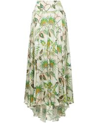 Adriana Iglesias - Tropical Print Full Skirt - Lyst