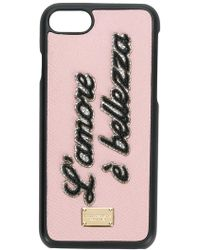 Dolce & Gabbana - L'amore È Bellezza Iphone 7/8 Case - Lyst