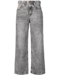DIESEL - Ausgeblichene Jeans - Lyst