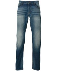 Armani Jeans - Classic Faded Jeans - Lyst