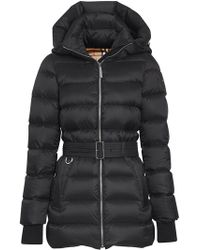 Burberry - Detachable Hood Down-filled Puffer Coat - Lyst