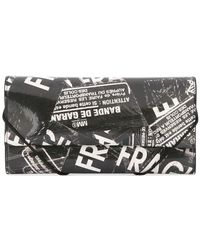 MM6 by Maison Martin Margiela - All Over Logo Wallet - Lyst