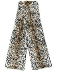 Philosophy Di Lorenzo Serafini - Leopard Fur Scarf - Lyst