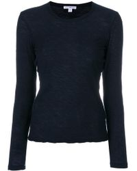 James Perse - Long Sleeved T-shirt - Lyst