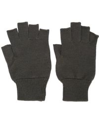 Rick Owens - Fingerless Fitted Gloves - Lyst