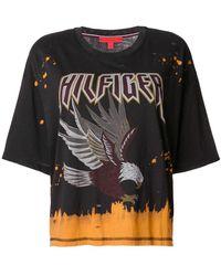 Tommy Hilfiger - Grunge Band T-shirt - Lyst