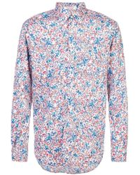 Engineered Garments - Garden Floral Printed Shirt - Lyst
