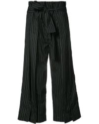 TOME - Flared Cropped Trousers - Lyst