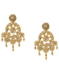 Oscar de la Renta - Dreamcatcher Beaded Earrings - Lyst