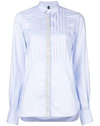 Eleventy - Fitted Long-sleeved Shirt - Lyst
