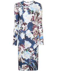 Prabal Gurung - Floral Long-sleeve Dress - Lyst
