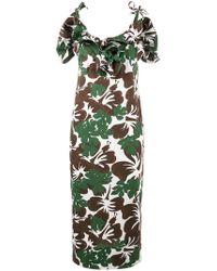 Rosie Assoulin - Blooming Onion Tropical Print Dress - Lyst
